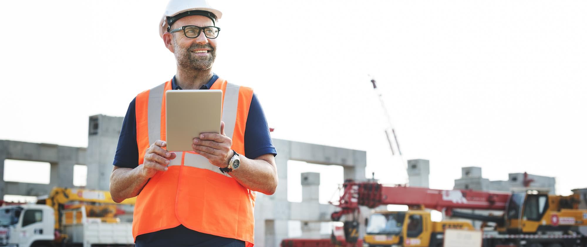 Baustellenüberwachung per Videoüberwachung von überall mittels Tablet