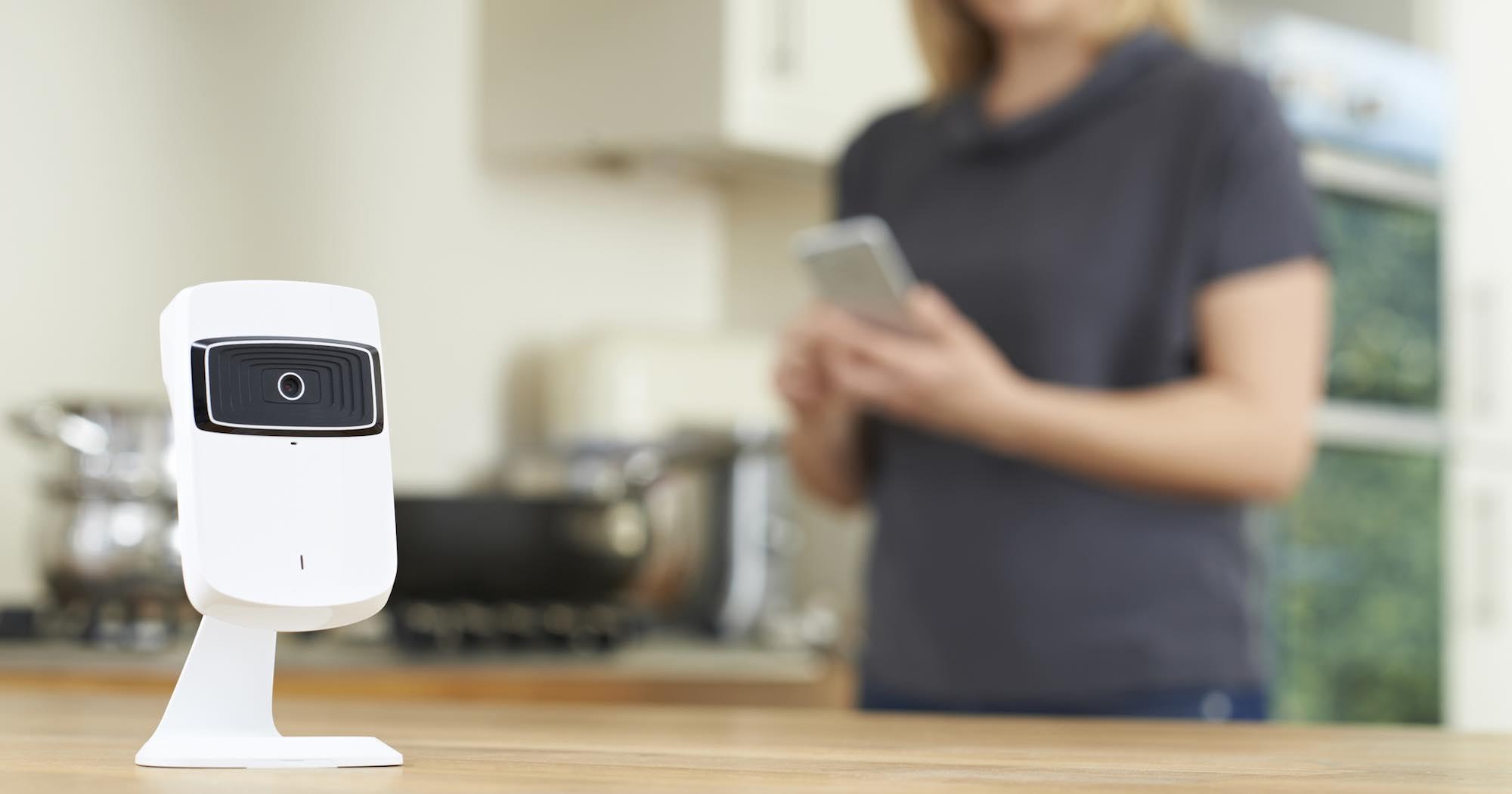 Flexible Überwachungskamera - Steuerung mittels Smartphone